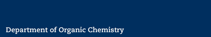 Department of Organic Chemistry